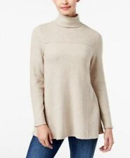 Style & Co Women's Petite Turtle Neck Sweater Tunic Hammock Heater Pl