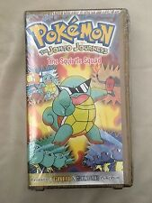 Vintage New Pokémon The Johto Journeys The Squirrel Square VHS Cassette Movie