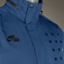 NEW - Nike Air Pivot V3 Anorak Blue Short Sleeve Jacket 802629 423 - Sz L