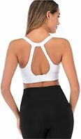 Helisopus Women's Back Adjustable, White, Size XL fit(36D 36DD 38B 38C 40A) gMrp