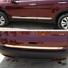 5PC Rear Trunk Lid + Side door molding chrome trim FOR HONDA CRV 2013 2014 2015