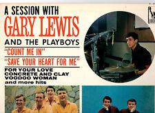 "GARY LEWIS & THE PLAYBOYS.A SESSION WITH.U.S.ORIG ""MONO"" LP & INN/CO/SL.EX+/EX+"