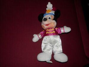 "RARE:  14"" Disney's Mickey Mouse  Drum Majorette Band Plush Stuffed Purple PLUS"