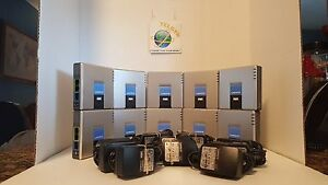 10 UNLOCKED Linksys PAP2T VOIP ATA  W/ Power adapters SELLER REFURBISHED