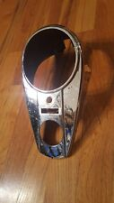 Harley davidson oem 1947-61 Panhead chrome dash good condition some rust no dent
