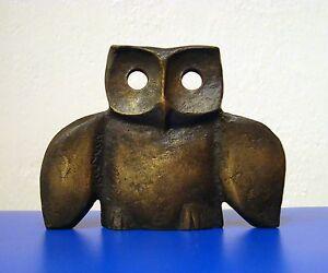 Large Animal Owl With Bird Wings Art Sculpture Dark
