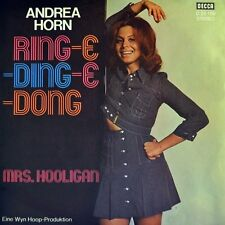"7"" ANDREA HORN Ring-E-Ding-E-Dong/Mrs.Hooligan HEDI PRIEN HONEY TWINS DECCA 1972"