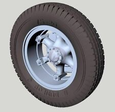 Panzer Art 1/35 Road Wheels for Renault AHN French Truck WWII (Dunlop) RE35-518