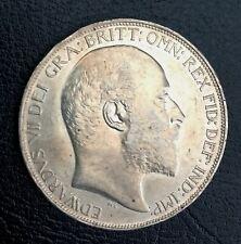 More details for 1902 edward vii silver crown ef