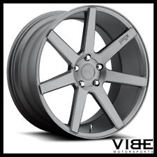 "19"" NICHE VERONA ANTHRACITE CONCAVE STAGGERED WHEELS RIMS FITS ACURA TL"