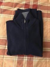 Maglione Con Zip BLU Polo Ralph Lauren Blu Taglia L