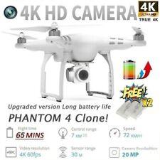 2020 Newest Upgraded Clone Phantom 4 Pro HD 4K/1080P Camera Drone Newest RC Dron