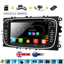 "7"" Car DVD/CD/USB/SD/RDS/3G Player GPS Ford Focus Mondeo S/C-Max Galaxy Transit"