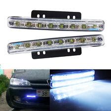 2X 5W LED Bulbs Fog Light Lamp Driving DRL Daytime Running Light Super White 12V