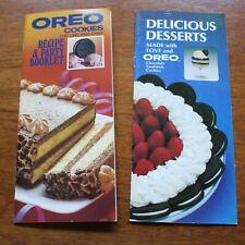 Vintage Oreo Brochures