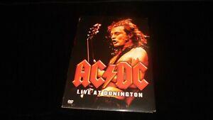 AC/DC – Live At Donington 1991 SONY 2003 digipack DVD metal hard rock