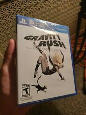 Sealed Gravity Rush remastered (Sony PlayStation 4, 2016) very rare and iconic.