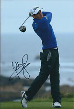 Rafael CABRERA BELLO SIGNED Golf Autograph Photo AFTAL COA Dubai Classic WInner