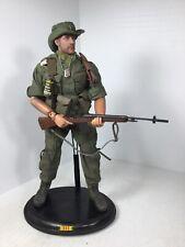 1/6 DRAGON US ARMY CUSTOM INFANTRY SCOUT M-14 VIETNAM +STAND & PLAYBOY BBI DID