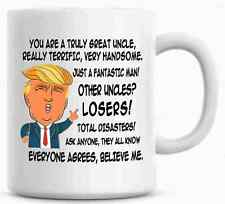 Gift for UNCLE, Donald Trump Great Uncle Funny Mug
