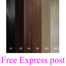 """Clip in 26"""" Remy Human Hair Extensions Black Brown Blonde Full Head Express Post"""