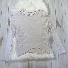 UGG Australia Womens Knit Sweater Pullover White Cream Small Pullover Cotton