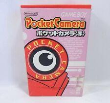 Nintendo Game Boy Accessories Genuine Pocket Camera(Red) w/Box Very rare F/S