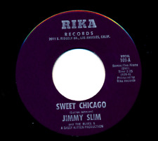 Jimmy Slim & the Blues 5 Rika 109 E 45 Sweet Chicago b/w Hey Y'all