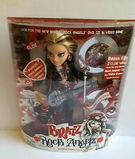 "Bratz Rock Angelz Cloe Doll 9 ½"" w/Guitar & CD"