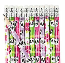 Pack of 12 - Panda Party Pencils - Stocking Party Loot Bag Fillers