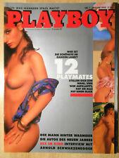 Playboy D 1/1988 zum 33. Geburtstag, Januar 1988  - TOP