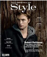 Style,Robert Pattinson,Jonathan Franzen,Esperanza Spalding,Maria Sole Torlonia