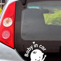 """Baby on Board """"Baby in car"""" Window Car Sticker Auto Truck Vinyl De_ws"""