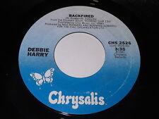 Debbie Harry: Backfired / Military Rap 45