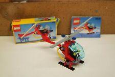 LEGO LEGOLAND 6531 FLAME CHASER ELICOTTERO Inc BOX & Istruzioni