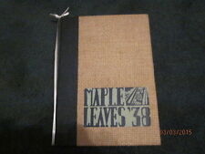 1938 Maplewood - Richmond Heights (MO) Maple Leaves High School Yearbook - Nice!
