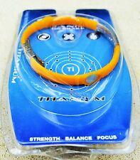TRI-BALANCE Ion  band magnetic ionic energy titanium sports bracelets (yellow)