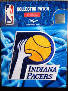 Official Licensed NBA Indiana Pacers Hardwood Classic Iron or Sew On Patch
