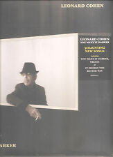 "LEONARD COHEN ""You Want It Darker"" Vinyl LP sealed"