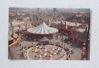 Vintage Disneyland Postcard - Mad Tea Party Ride - D112 - Excellent Condition