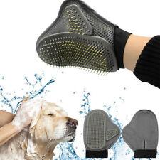 Pet Cat Dog Hair Grooming Gloves Mitt Brush Removal Shedding Fur Coat Care Tools