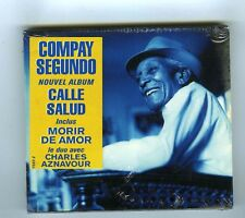 CD (NEW) COMPAY SEGUNDO CALLE SALUD (DUO AVEC CHARLES AZNAVOUR)