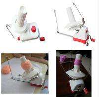 New Portable Hand-Operated Yarn Winder Wool String Thread Skein Machine Tool Kit