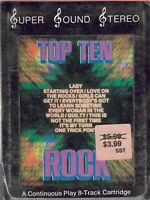 "TOP TEN ROCK VOL. 1 8-TRACK TAPE - STILL SEALED (""NEW OLD STOCK"")"