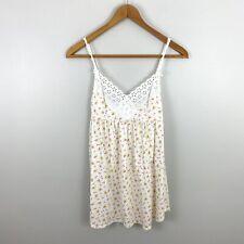 Victoria's Secret Vintage Nightgown Nightie S Small Cotton Lace Floral