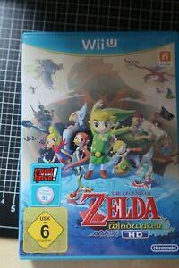 The Legend of Zelda: The Wind Waker HD (2013, Wii U) inklusive Handbuch