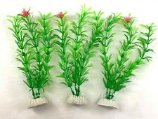 "(7 Pack) 8"" Artificial Aquarium Plant Plastic Decoration - Fast Shipping!"
