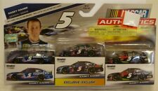 NASCAR AUTHENTICS Kasey Kahne Series Diecast 5 2013 3 pack NEW