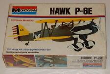Monogram Sealed Plastic Model Kit 1973 Hawk P-6E 1/72 R15051