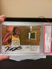 3 COLORS PATCH 2007 FLEER HOT PROSPECTS SHARP AUTO PSA 10 POP 5 KEVIN DURANT RC